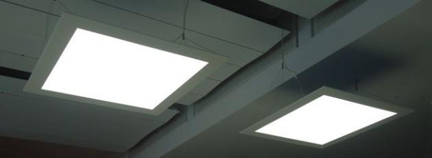 LED-Flächenlicht Module HIGH POWER-w in der Formatgröße 800 x 800 mm
