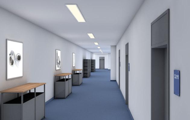 LED-Flächenlichtmodule HIGH POWER-w in der Formatgröße 400 x 1400 mm