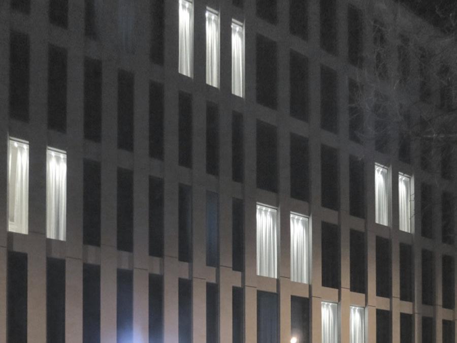 Innenraumbeleuchtung und Aussenbeleuchtung Fassade