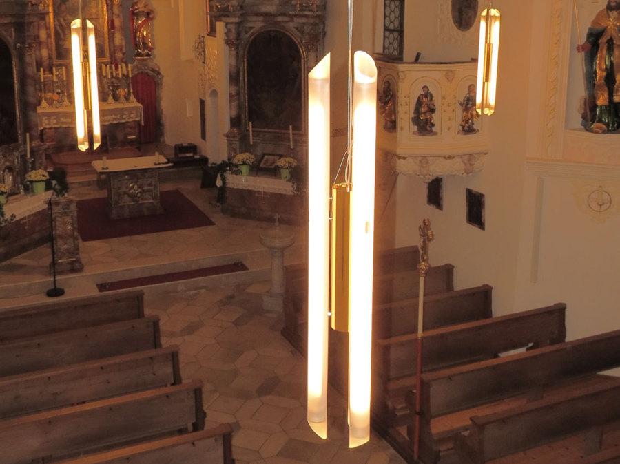 LED-Leuchten Sonderanfertigung Kirchenraum